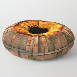 JUMP INTO THE FIRE Floor Pillow