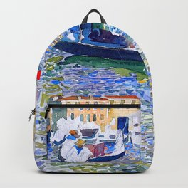 """Maurice Prendergast """"Grand Canal, Venice"""" Backpack"""
