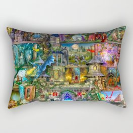Once Upon a Fairytale Rectangular Pillow