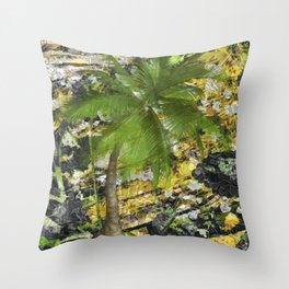 BUNGLE IN THE JUNGLE Throw Pillow