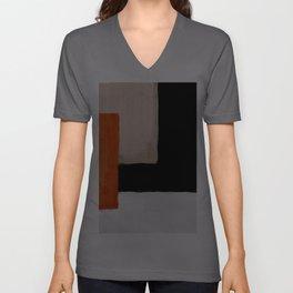 abstract minimal 14 Unisex V-Ausschnitt