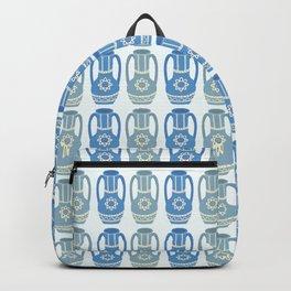 Grecian Urn in Blue Backpack