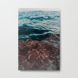 Atlantic Ocean Shores Metal Print