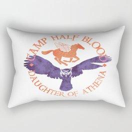 daughter of athena Rectangular Pillow