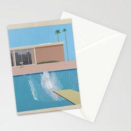 A Bigger Splash - David Hockney, 1967 Stationery Cards