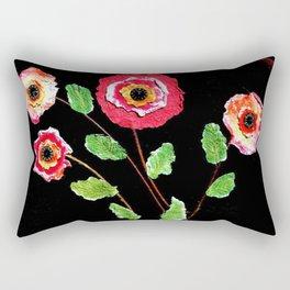 Dynamic Blossoms Rectangular Pillow