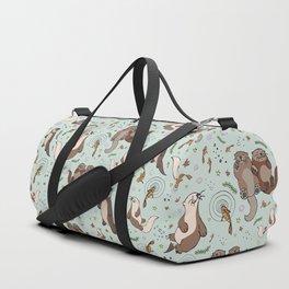 Cute Sea Otters Sporttaschen