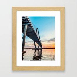 Ancora Qui Framed Art Print