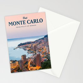 Visit Monte Carlo Stationery Cards