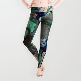 Abstract Paint 1 Leggings