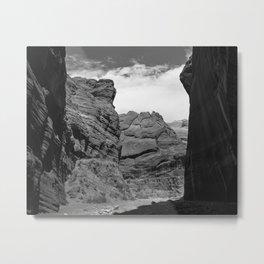 Buckskin Gulch, Utah Desert Slot Canyon Metal Print