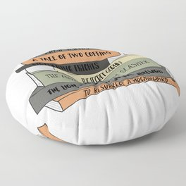 To Resurrect a Mockingbird Floor Pillow