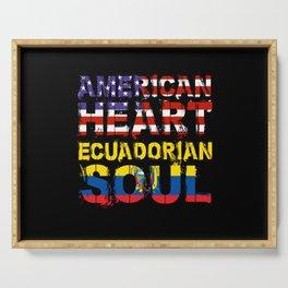 American Heart Ecuadorian Soul Gift Serving Tray