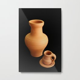 Small pottery items Metal Print