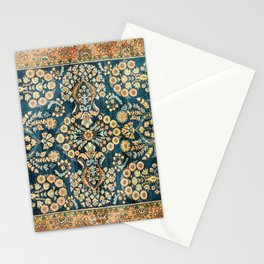 Sarouk  Antique West Persian Rug Print Stationery Cards