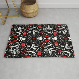 A Pirate's Life Damask Rug