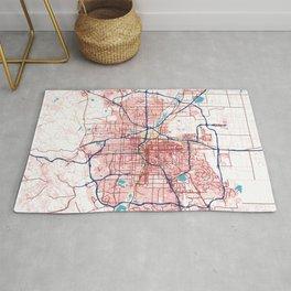 Denver's POP urban map Rug