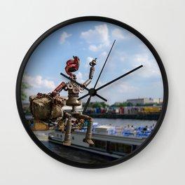 Berlin Canal Wall Clock