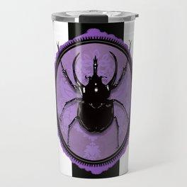 Juicy Beetle PURPLE Travel Mug