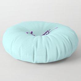 Be generous & grateful Floor Pillow