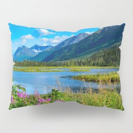 God's Country - II, Alaska Pillow Sham