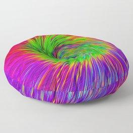 Psychedelic Swirl Floor Pillow