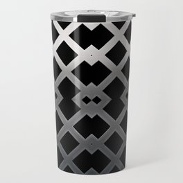 Metallic Ornament Travel Mug