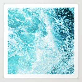 Perfect Sea Waves Kunstdrucke