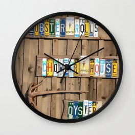 Chowder House Wall Clock