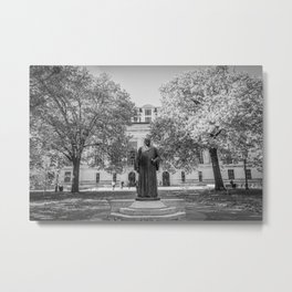 Ohio Campus Library Print Metal Print
