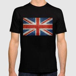 "UK British Union Jack flag ""Bright"" retro T-shirt"