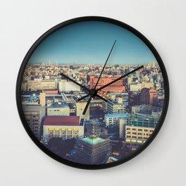 Tokyo 73 Wall Clock