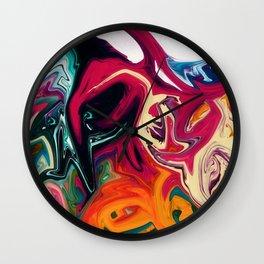 Sugar Bubble Wall Clock