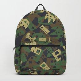 Gamer Camo WOODLAND Backpack