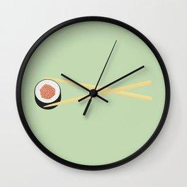 Perfect Sushi II Wall Clock