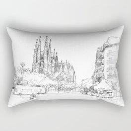 Bcn 5 Rectangular Pillow