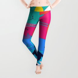 Colorful Shadow Zen State of Mind Leggings