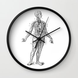 Bloody Woman Wall Clock