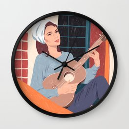 Moon River - The balcony song Wall Clock