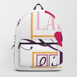 Live Laugh Love Valentines Day Valentine Backpack