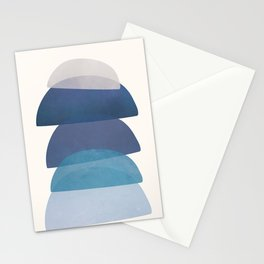 Blue Stack 03 Stationery Cards