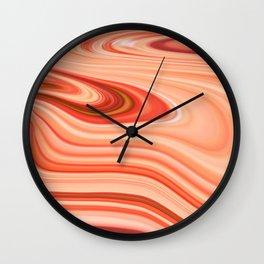 Cantaloupe. Wall Clock