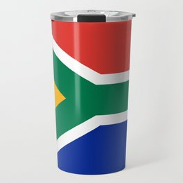South African flag of South Africa Travel Mug