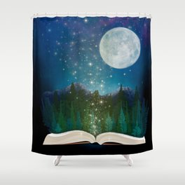 Open Your Imagination Shower Curtain