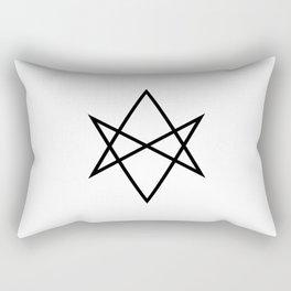 Unicursal hexagram Rectangular Pillow