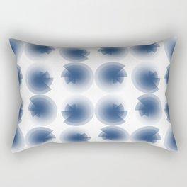 Blue ticklings Rectangular Pillow