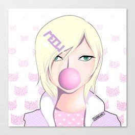 Bubble Gum Prince Canvas Print
