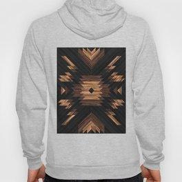 Urban Tribal Pattern No.7 - Aztec - Wood Hoody