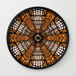 Chamber of Gold Wall Clock