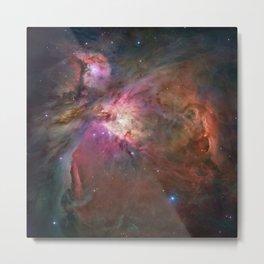 Orion Nebula M42, NGC 19 (High Quality) Metal Print